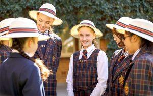 St Catherine's Sydney school students